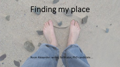 Finding my place